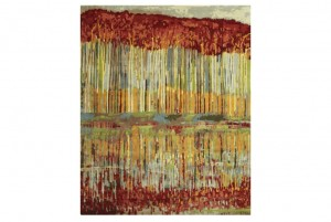 """Reflection Sky"" by Wool and Silk Rugs"